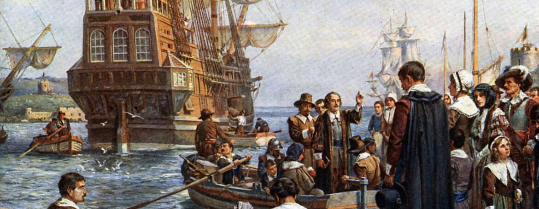 I Padri Pellegrini, primi immigrati negli Stati Uniti